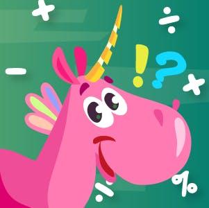 Unicorn Math Adventure Quiz