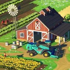 Big Farm: Harvest is a farm simulator game that you can play online!